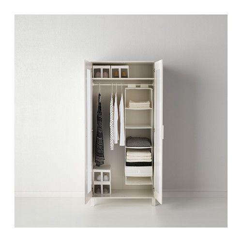 ANEBODA Kleiderschrank IKEA Verstellbare Scharniere stellen sicher, dass die Türen gerade hängen.