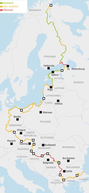Experiencing the history of Europe's division — EuroVelo 13 The Iron Curtain Trail.