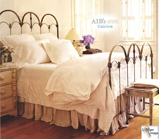 Antique Iron Beds - American Iron Bed Company - Authentic Antique Cast Iron Bed Frames