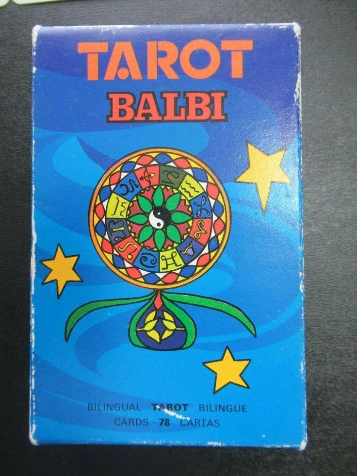 Domenico balbi tarot cards complete deck bilingual made