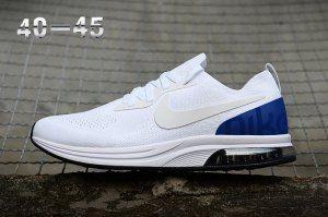 9c10309f07eed4 Mens Nike Air Zoom Mariah Flyknit Racer 9 Royal Blue White Sneakers ...