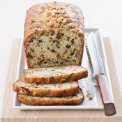 Pão de abobrinha com iogurte e nozes