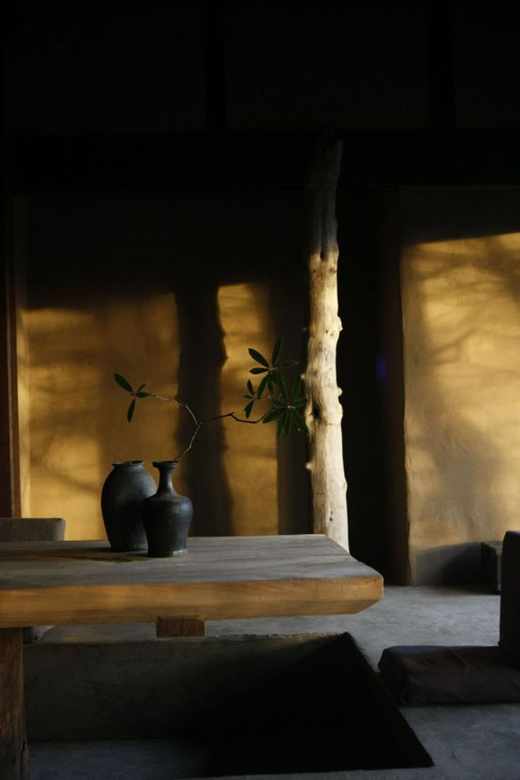 Axel Vervoordt A play of the shadow is a part of art. (Wabi Sabi)
