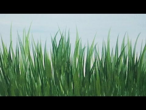 How To Paint Realistic Grass In Oils