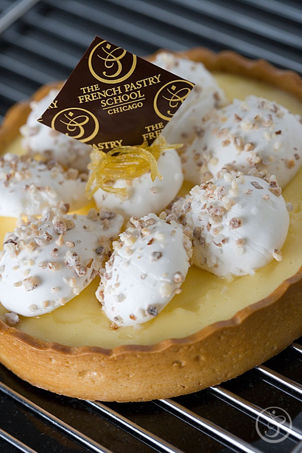 Learn to make Lemon Tart with French Meringue at The French Pastry School's The Finest French Tarts course with Chef Scott Green, March 5 - 7th