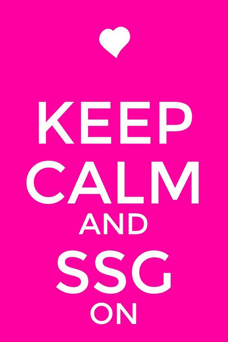 Ssg means sevensupergirls. <3 Oceane <3 Nicole <3 Kaelyn  <3 Jenna <3 Kayla <3 CJ  <3 Katherine <3 Rachel <3 jazzy