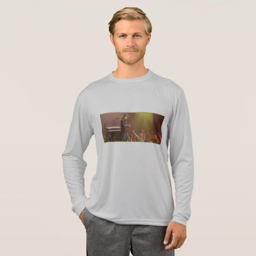 Steve Walsh  Long Sleeve Concert T-Shirt (Men's) - mens sportswear fitness apparel sports men healthy life