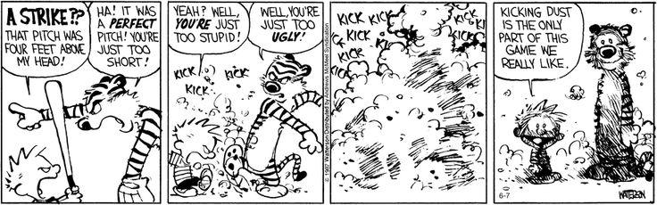 Calvin and Hobbes by Bill Watterson for Jun 7, 2017 | Read Comic Strips at GoComics.com