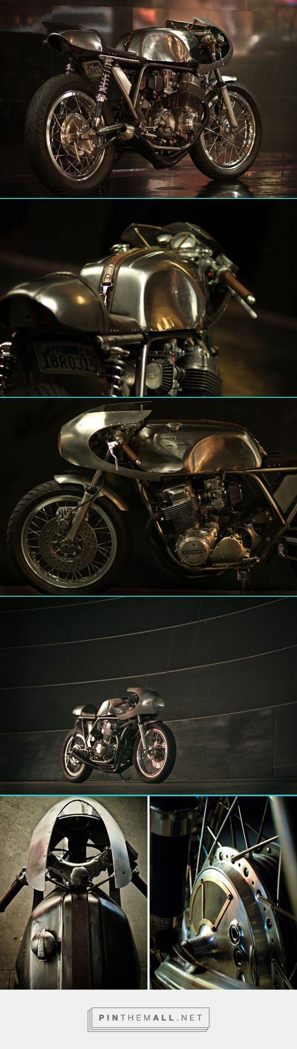 76' Honda CB750 by Raccia Motorcycles - Pipeburn.com - created via https://pinthemall.net