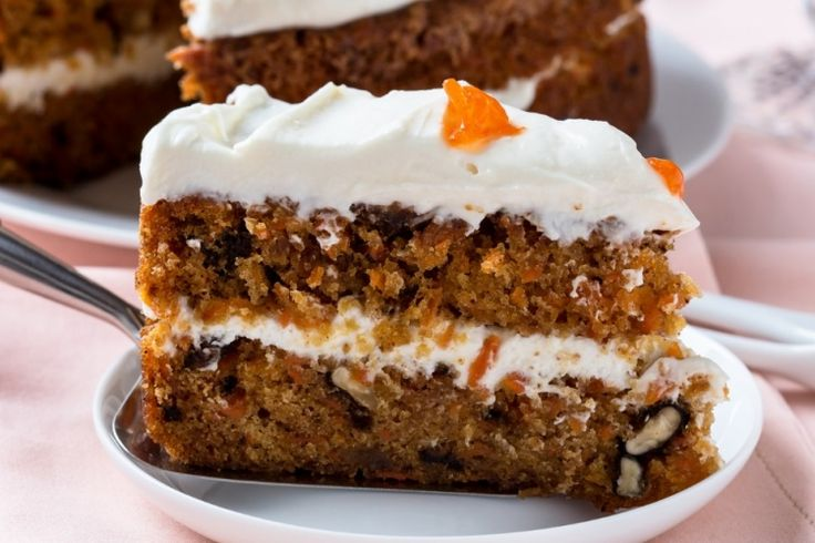 Un gâteau formidable...Le gâteau aux carottes et son glaçage de fromage à la crème