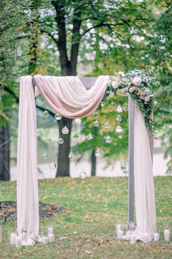 Wedding arches and ideas for the modern bride and groom. Check our Wedding Things Blog - Invitations by Tango Design