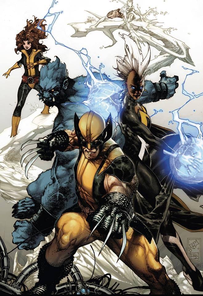 X-Men by Simone Bianchi