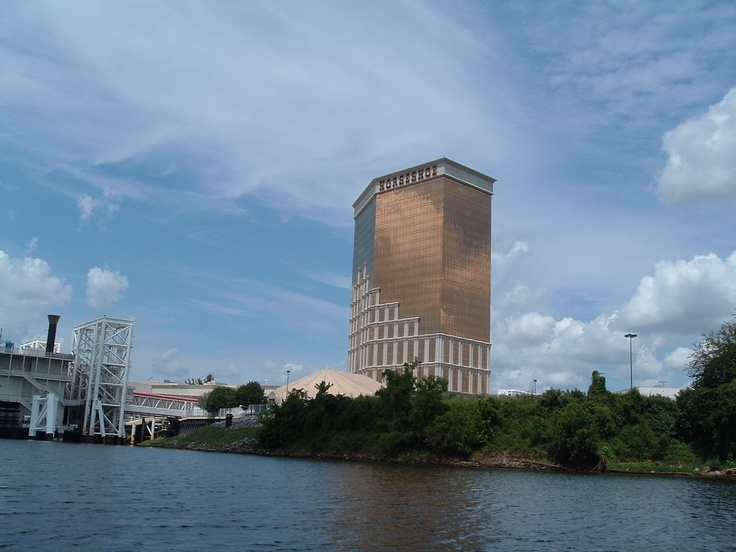 The Horseshoe Casino Hotel in Bossier City, Louisiana.