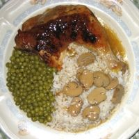 Easy Baked Chicken Leg Quarters And Gravy Recipe