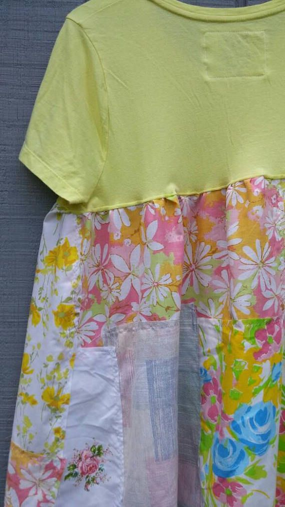 Summer tunicupcyled clothing wearable