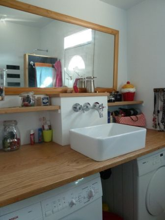 81 best Bathroom images on Pinterest Bathroom, Bathrooms and Half