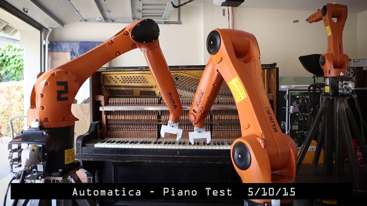 Robôs vs Música
