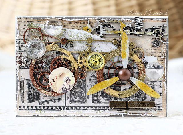 Блог Scrapberry's: Вдохновение со Scrapberry's - мужские открытки
