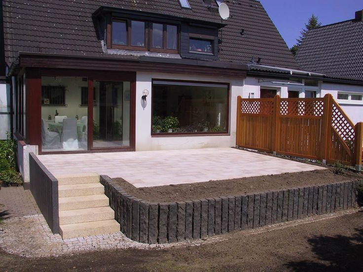 53 best Gartenumbau images on Pinterest Natural stones, Porches - team 7 küche gebraucht