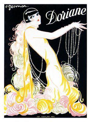 AP1202 - Doriane, Cabaret Poster, Artist: Charles Gesmar, 1920s (30x40cm Art Print)