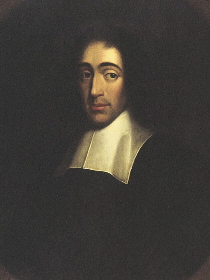 † Baruch Spinoza (November 24, 1632 - February 21, 1677) Dutch philosopher, mathmetic and writer.