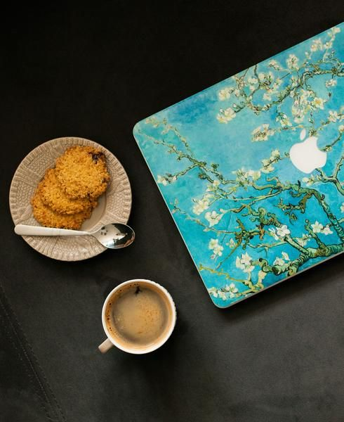 Van Gogh Blossoming Almond Tree artwork now available on Macbook cover :) See more artworks for Macbooks, Chromebooks and Windows laptops.