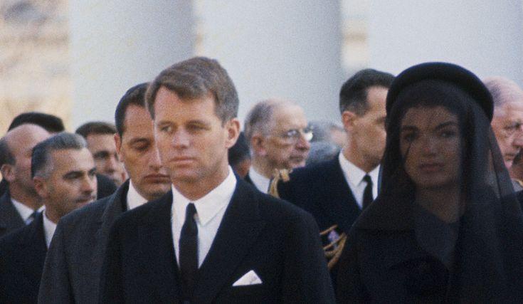 jackie and president kennedy | ... Jackie, le frère et la veuve du président assassiné. | Photo Jack