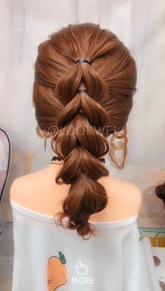 Bun Hairstyles Step By Step