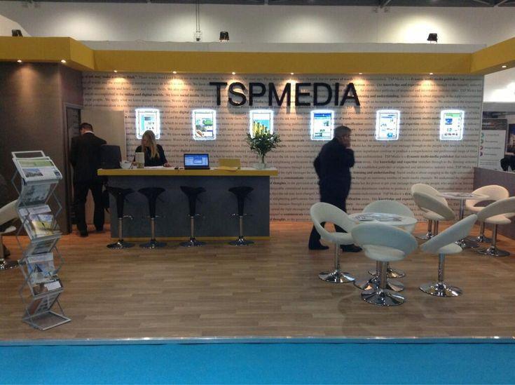 TSP Media stand at Ecobuild 2013
