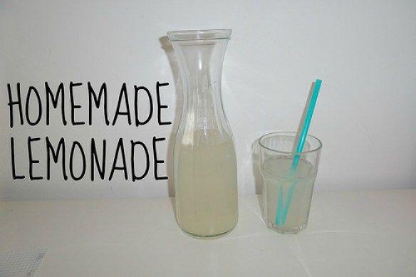 Zelfgemaakte limonade
