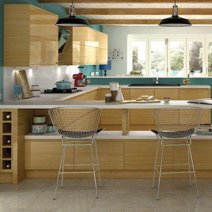 Kitchen-compare.com | Wickes Forli Oak Gloss