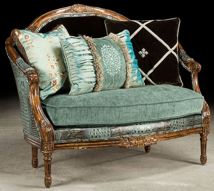 Baby blue gator settee  how crazy do you want to get  Luxury fine home   Unique FurnitureLuxury FurnitureHome FurnitureHigh Quality. 41 best Gustavian   Rococo style images on Pinterest   Swedish