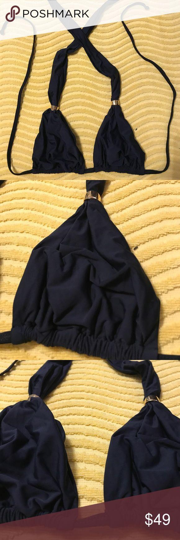 Ipanema Black Triangle Bikini Top Excellent condition. Ipanema Swim Bikinis