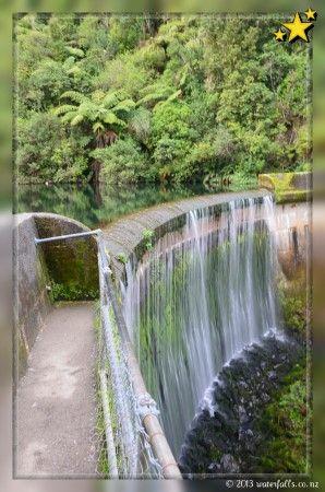 Birchville Dam Waterfall - Upper Hutt  best place  for short easy walk so beautiful
