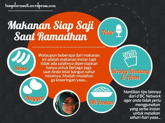 Makanan siap saji saat ramadhan #TipsRamadhan