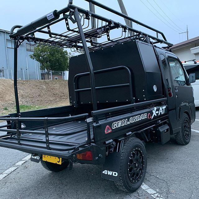 Hard Cargo Japan ハードカーゴジャパン 軽トラ用ラックキット Mini Trucks Mini Trucks 4x4 Truck Accesories