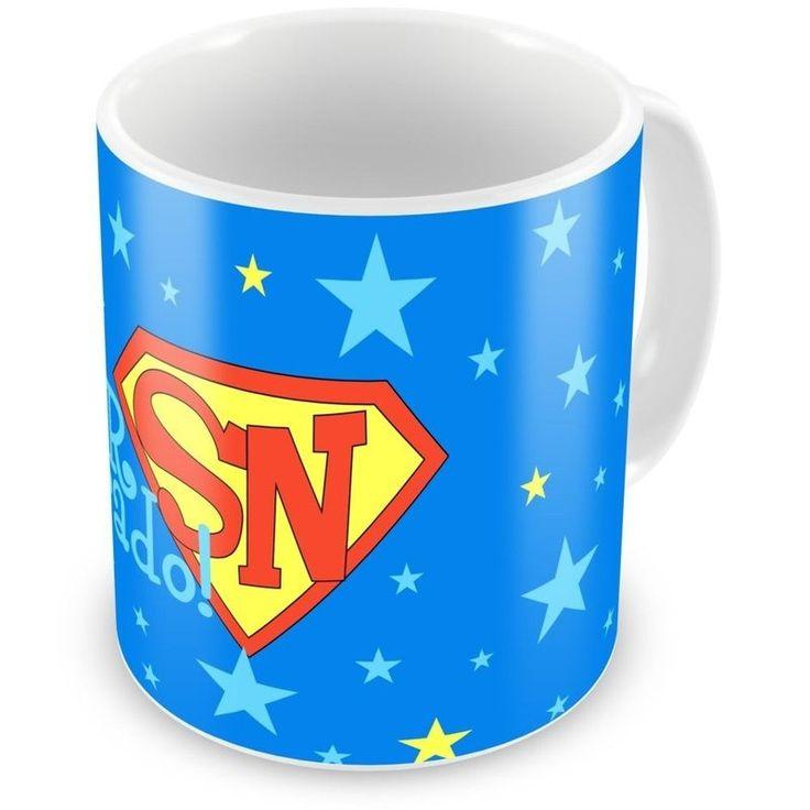 Caneca Porcelana Personalizada Super Namorado Estrelas - ArtePress   Brindes Personalizados, Canecas, Copos, Xícaras