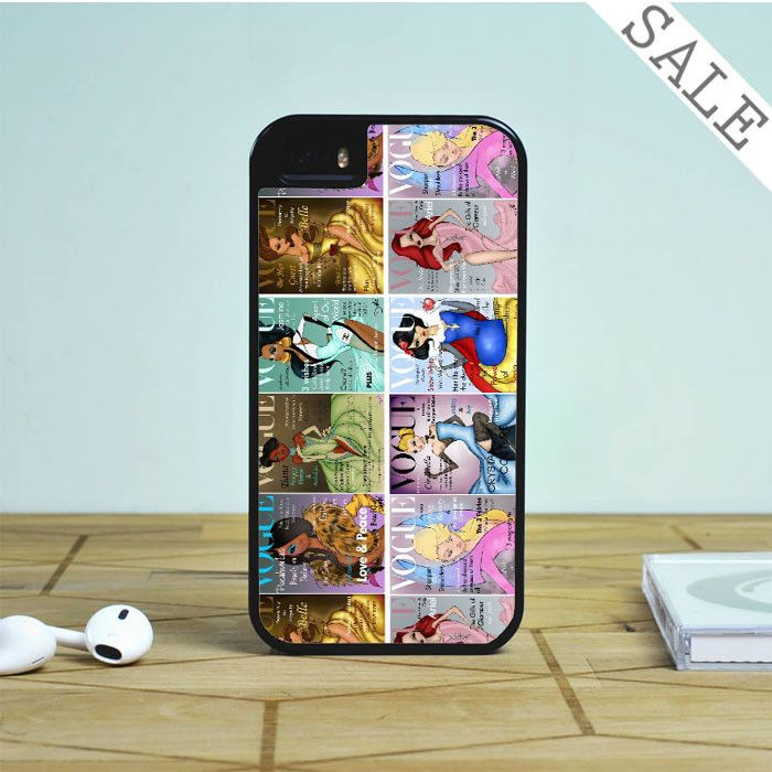 All Princesses Vogue Magazine For iPhone | Samsung Galaxy | HTC Case