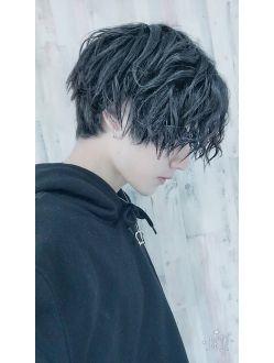 松田翔太風グランジパーマ