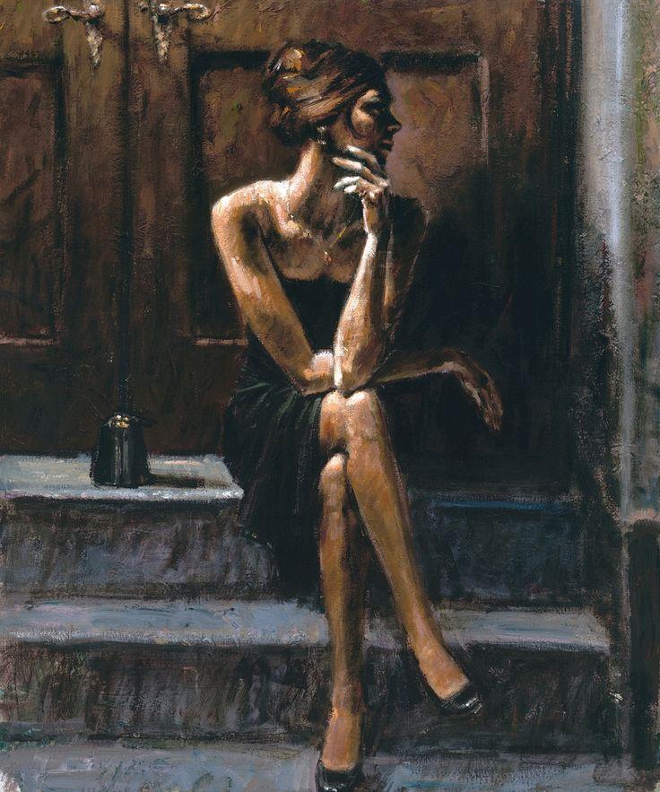 """Black Purse"" Fabian Perez, 2005"