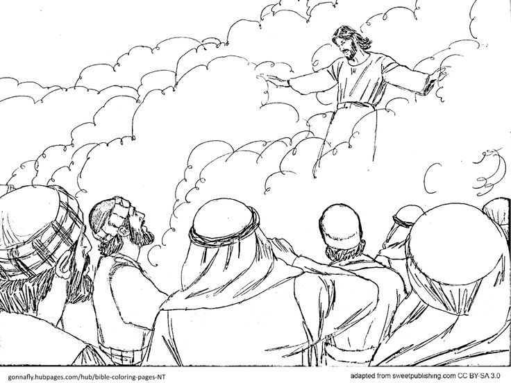 new testament coloring pages children - photo#14