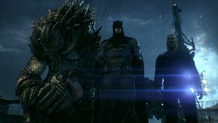 Batman: Arkham Knight (PS4)(Batman V Superman Skin Walkthrough) [Part 11...