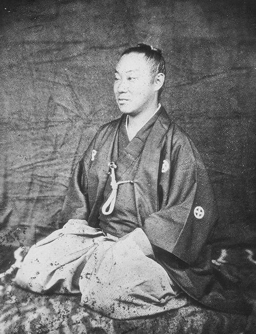 薩摩藩最後の藩主・島津忠義の写真