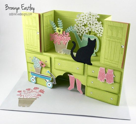 Colour INKspiration Challenges, #addinktivedesigns Bench Fold Card