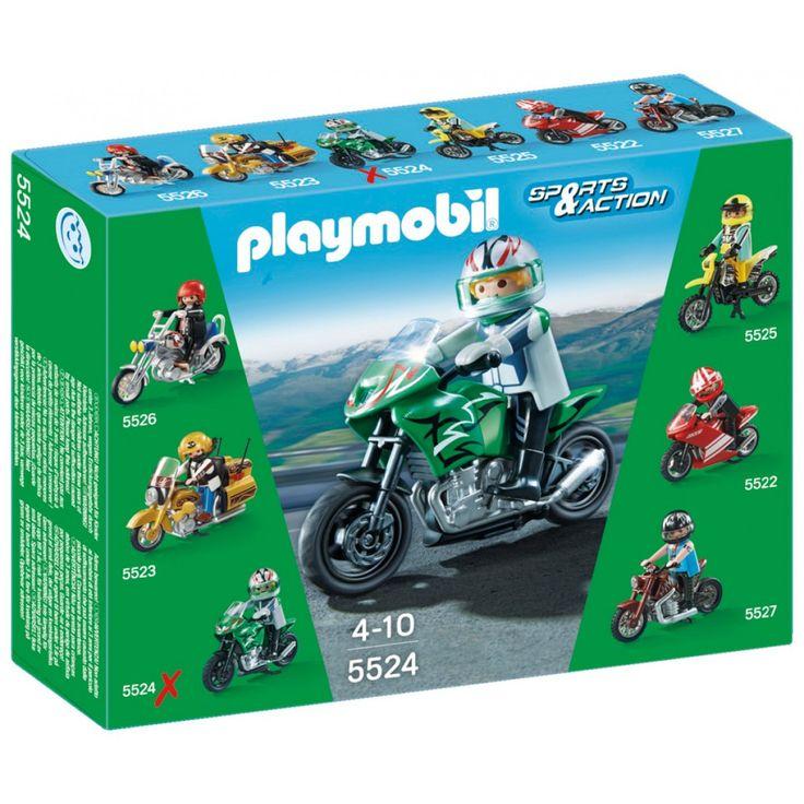 Playmobil Μοτοσυκλέτα Sports Bike 5524