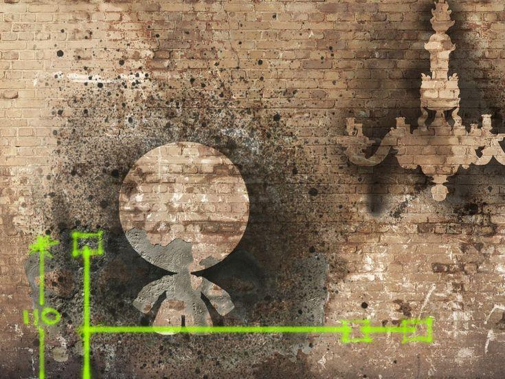 Effetto mattoni MEMORIES by Wall&decò design Giovanni Pagani