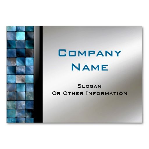 The 333 best construction business card templates images on blue mosaic tiles business cards colourmoves