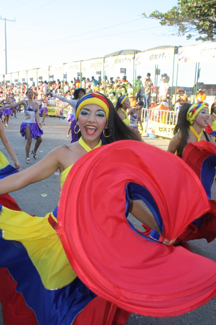 Colombia's flag Cumbia dress