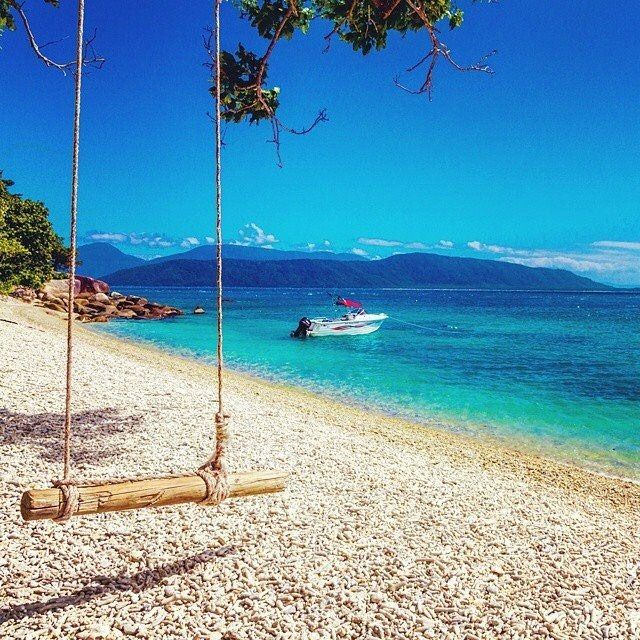 Care to join? From Fitzroy Island, where we'd all rather be. #thisisqueensland by @ragingthunder