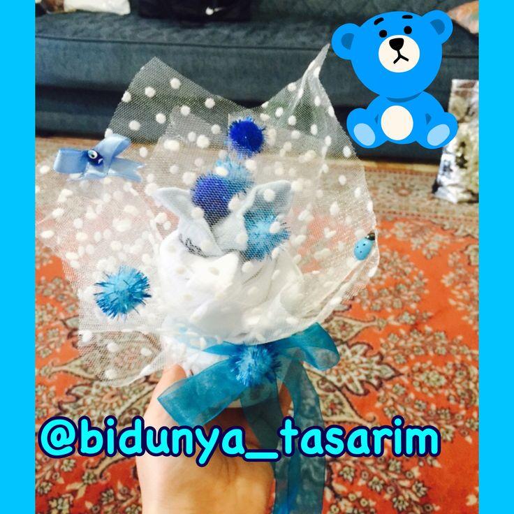 Yeni doğan bebekler için hastane hediyesi cupcake imiz sipariş alıyoruz 0532 616 95 68 ve facebook: bi dünya photography & tasarım sayfamızdan